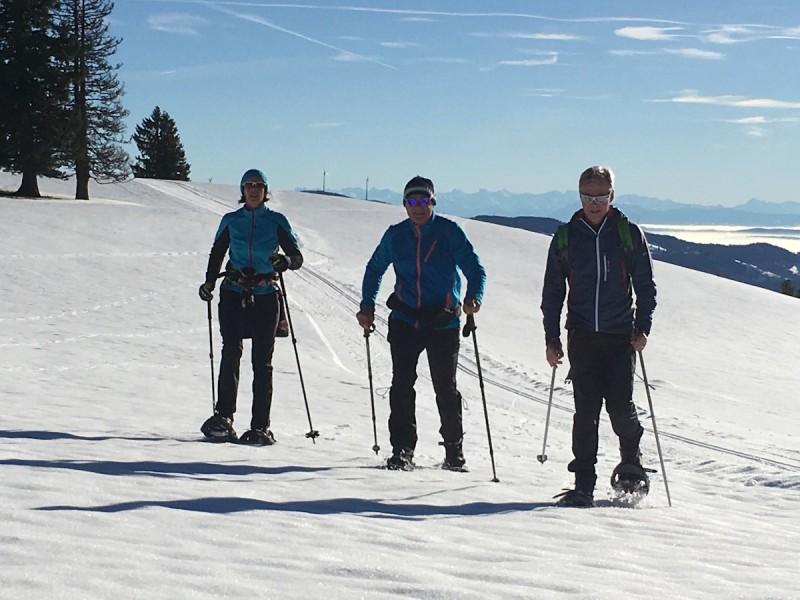 Schneeschuhlaufen Schwarzwald