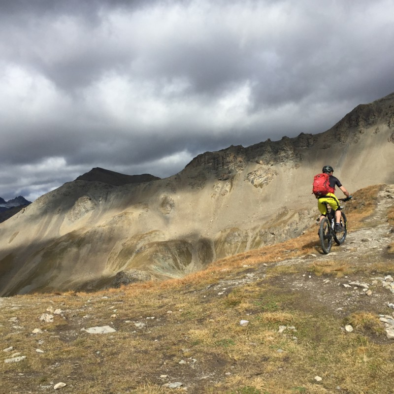 Mountainbike im Nationalpark