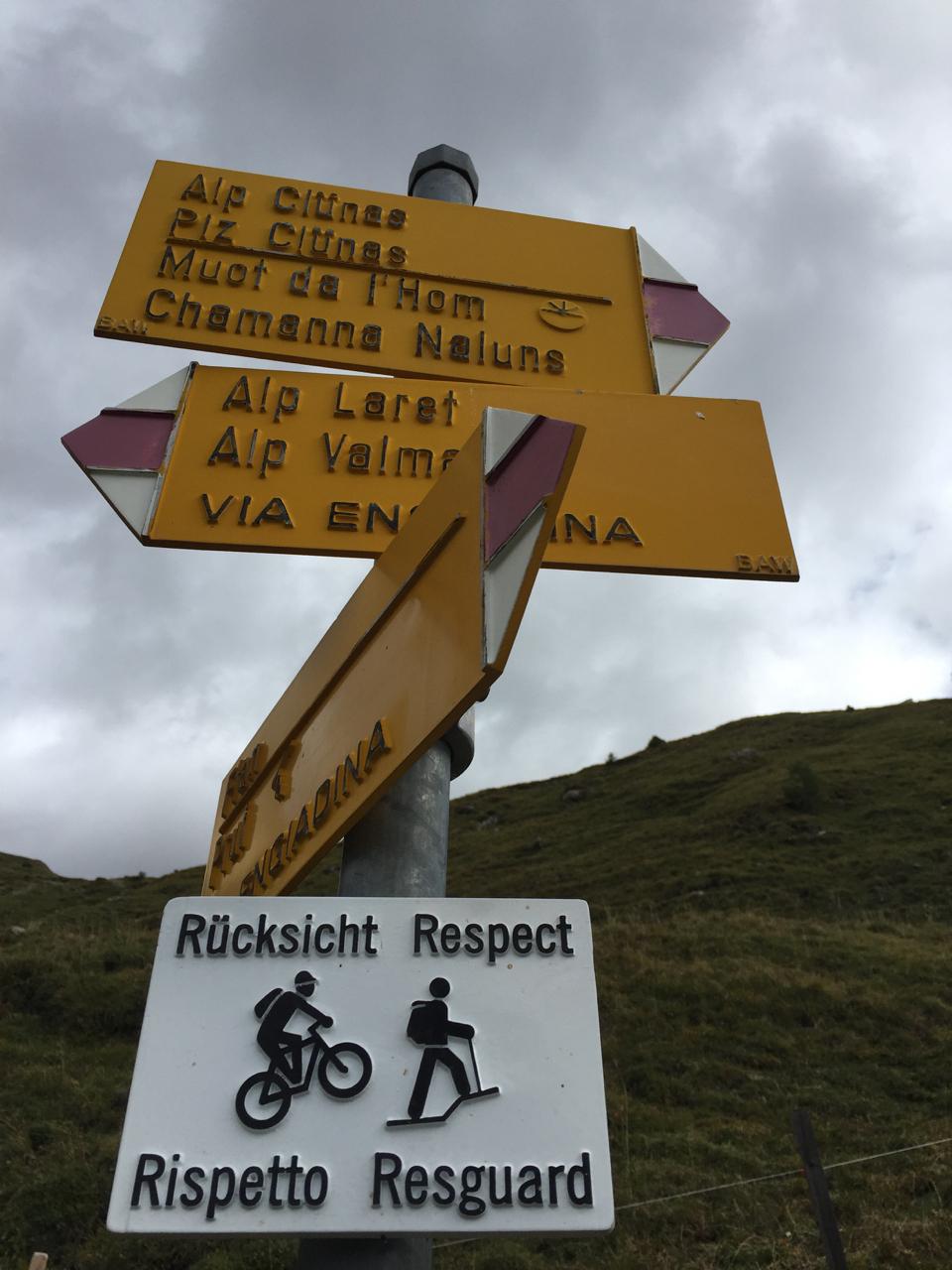 Mountainbike im Nationalpark